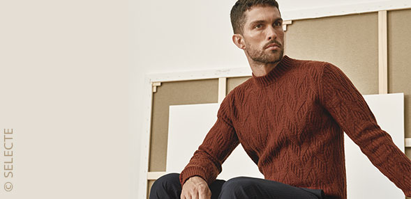 It's the season for chunky knits!